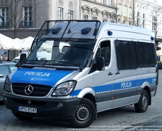 Policja Szczecin: Działania Kaskadowy pomiar prędkości