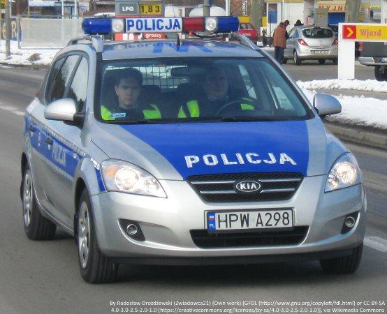 """Policja Szczecin: Elementarne zasady bezpieczeństwa dla najmłodszych w przedszkolu """"Bajkowa łąka"""""""
